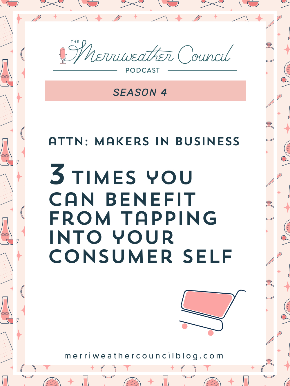 As business owners, we are constantly seeking out more information and training, but sometimes the consumer self-concept is all we need! | The Merriweather Council Podcast