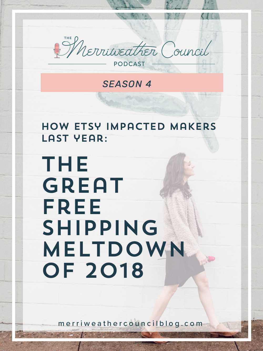 Learn about When and WHY offering free shipping on Etsy became a huge concern and the Etsy algorithm implications of shipping prices. | The Merriweather Council Podcast