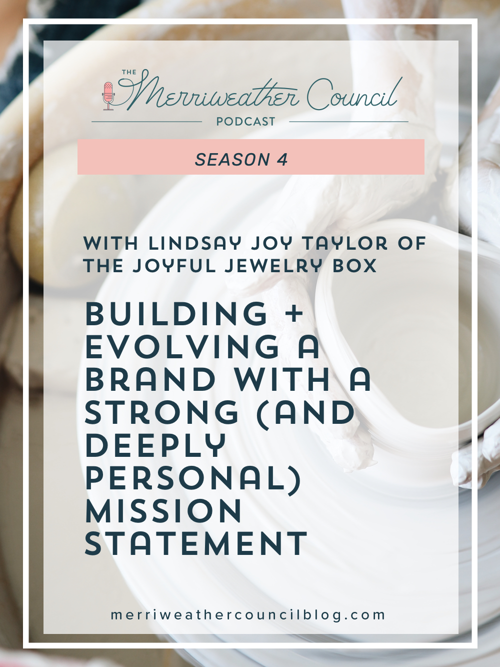 Building + Evolving a Brand with a Strong (and Deeply Personal) Mission Statement | Merriweather Council Podcast