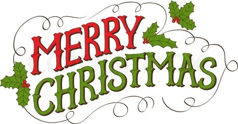 merry christmas clipart 2018