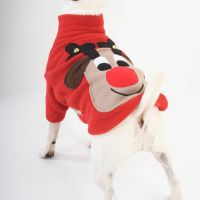 Squeaky Rudolph Christmas dog jumper  Christmas Jumpers ...