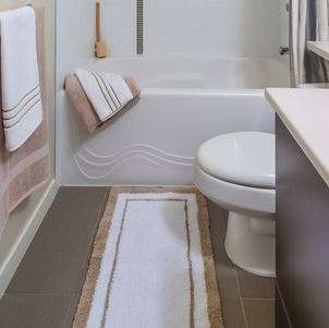 How To Wash Bathroom Rugs Merry Maids