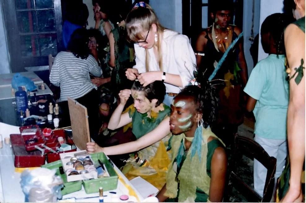 A Midsummer Nights Dream high school production Woodstock School 1992