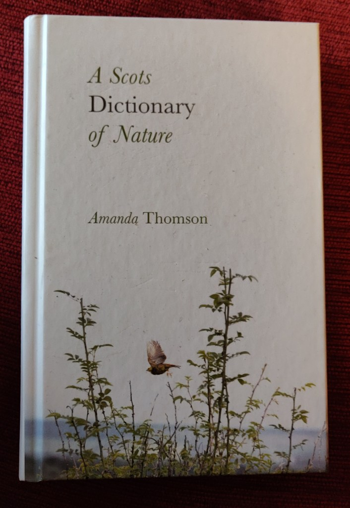 Scots Dictionary of Nature Amanda Thomson