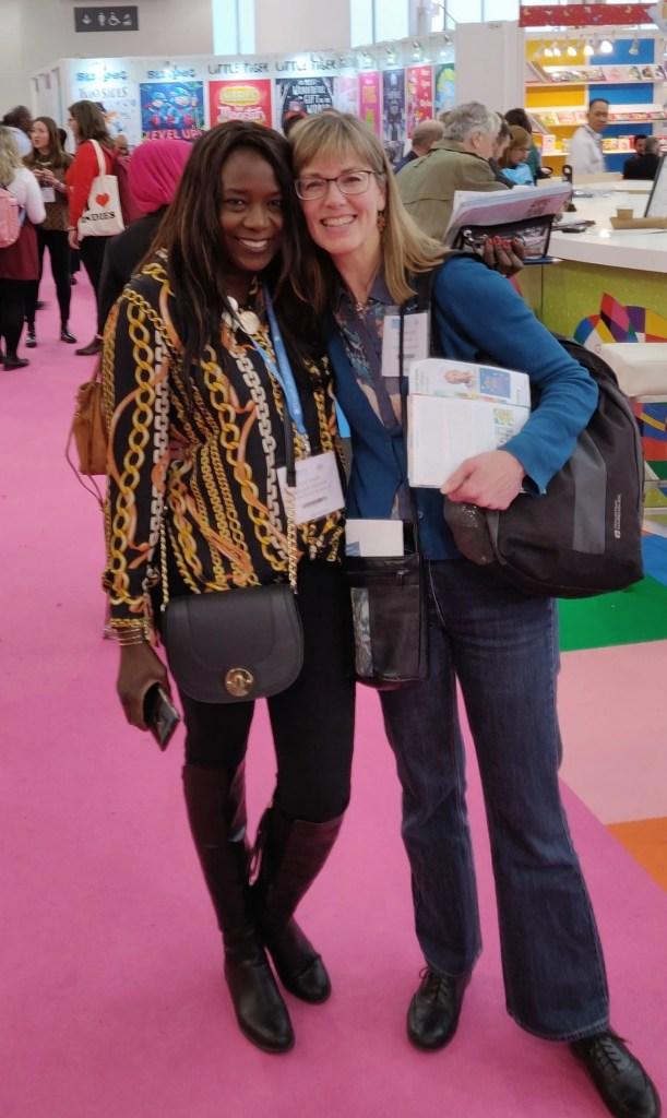 Rose Kawesa Sandy and Merryn Glover