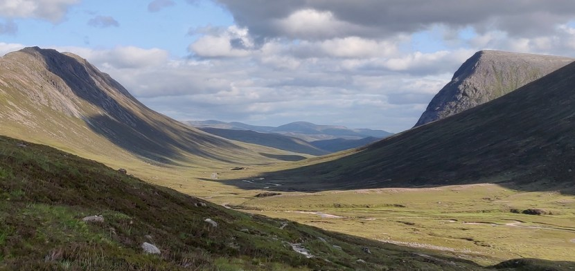 East end of Lairig Ghru