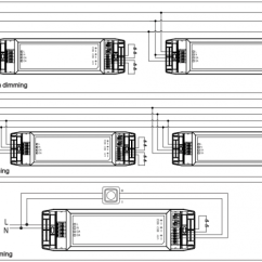 Dali Led Driver Wiring Diagram 240 Volt Light Compact Dimmable 2x25 W With Two Independent Output Channel
