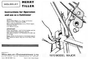 Merry Tiller Instruction Books
