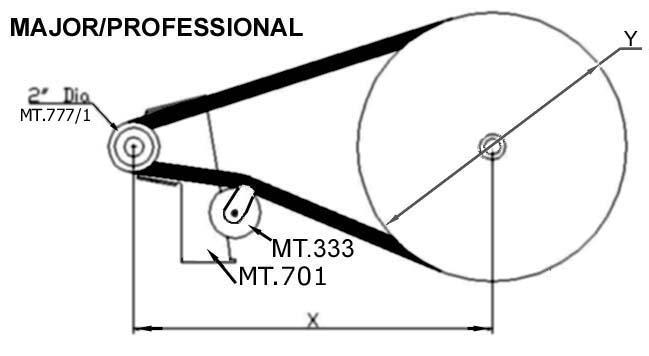 Merry Tiller spare parts, Belts