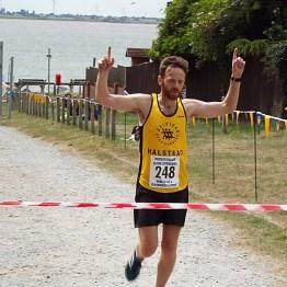 Overall Winner, James Smith - 1hr 26mins