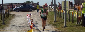 Rebecca Cooke Ladies Winner 5 Mile Race