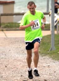 Jason Gunn - 3rd Overall 10 Mile Race (00:59:47)