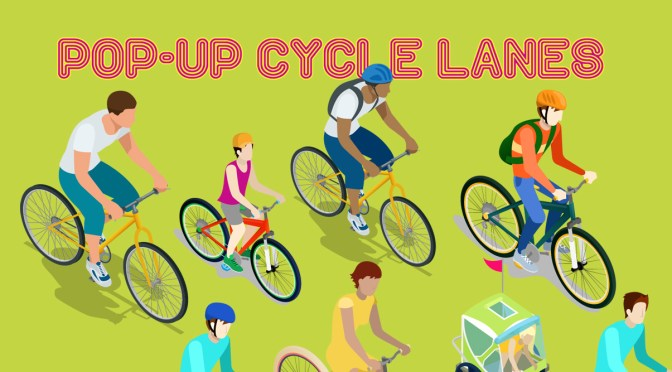 Pop-Up cycle lanes planned for Merseyside