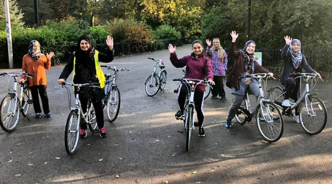 Women on Bikes crowdfunder
