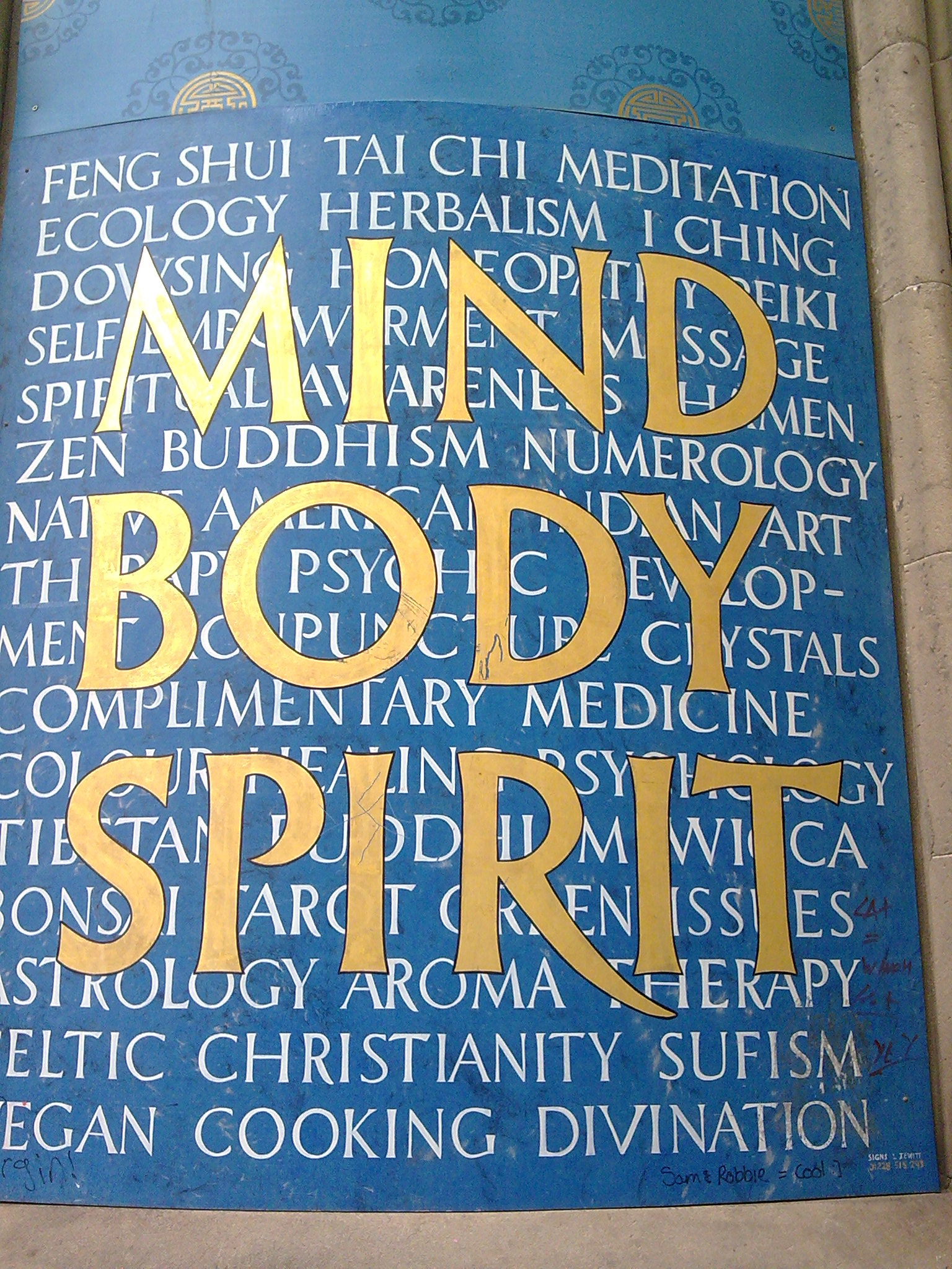 Mind Body Spirit Hand Hook Line And Sinker The