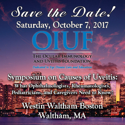 2017 OIUF Pediatric Uveitis Conference Sat October 7th