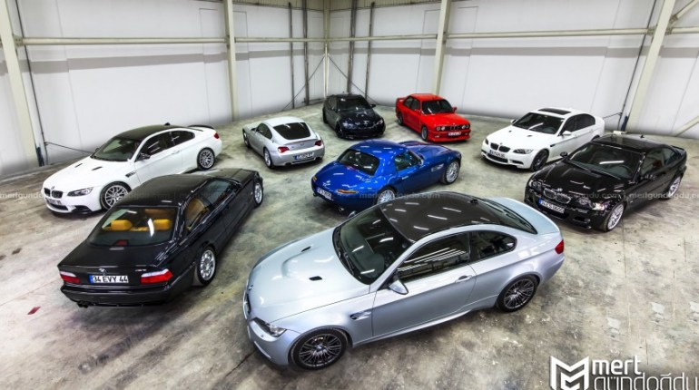 BMW M Serisi Profesyonel Fotoğraf Çekimi