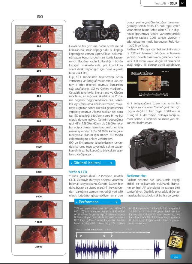 Fujifilm XT-1 İncelemesi
