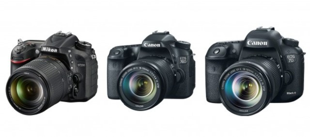 Nikon D7200 mi Canon 70D mi Canon 7D Mark II mi?