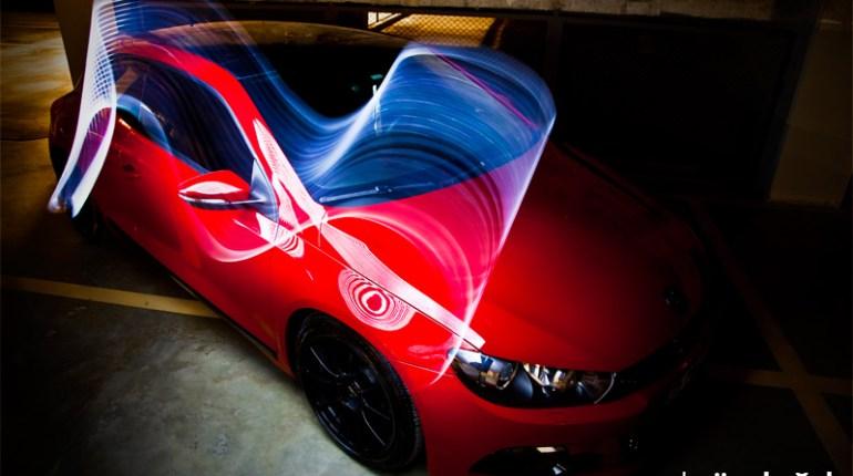 Red Scirocco Photoshoot