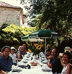 Lunch in St. Antonin