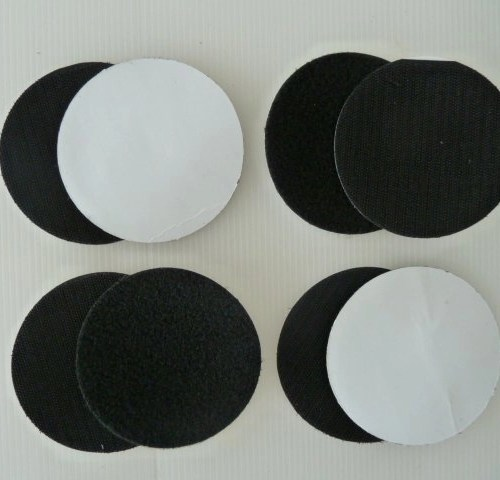 Extra Hook & Loop Fastener Pads for Flexzi