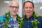 Filmmaker David Grubin and Dr. Puakea Noelmeier