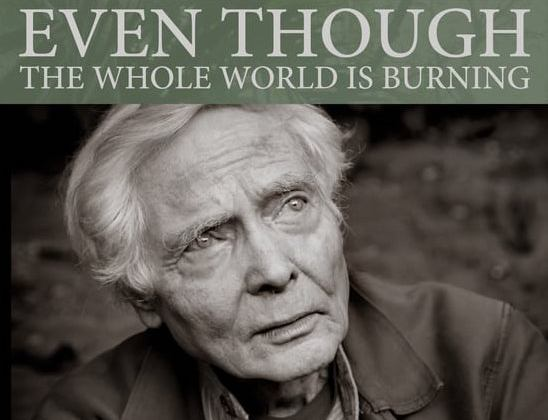 W.S. MERWIN DOCUMENATRY TO SCREEN IN CHICAGO ON MAY 8th