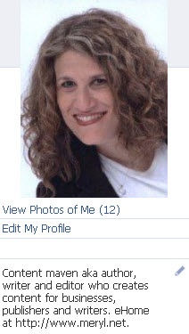 Facebook Profile Bio