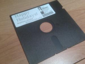 Happy Holidays Disk