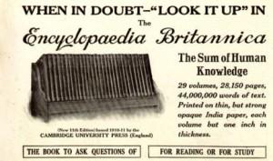 Encyclopaedia Britannica ad