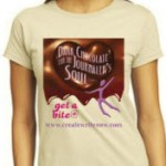 Dark Chocolate for the Journaler's Soul Shirt