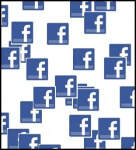 Snowing Facebook