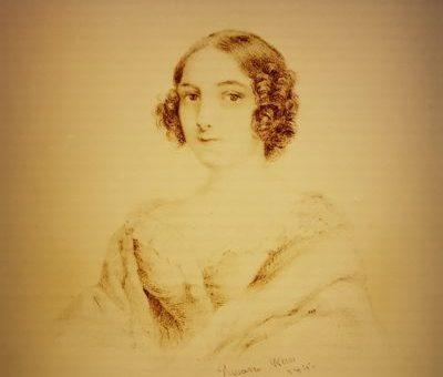 Rosario Weiss, alumna de Goya