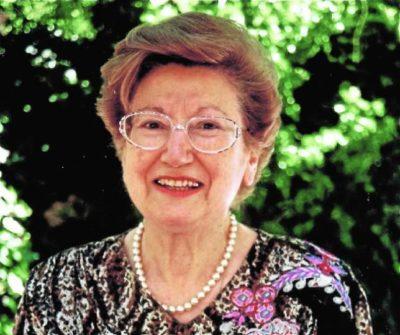 Ángeles Galino, primera catedrática por oposición