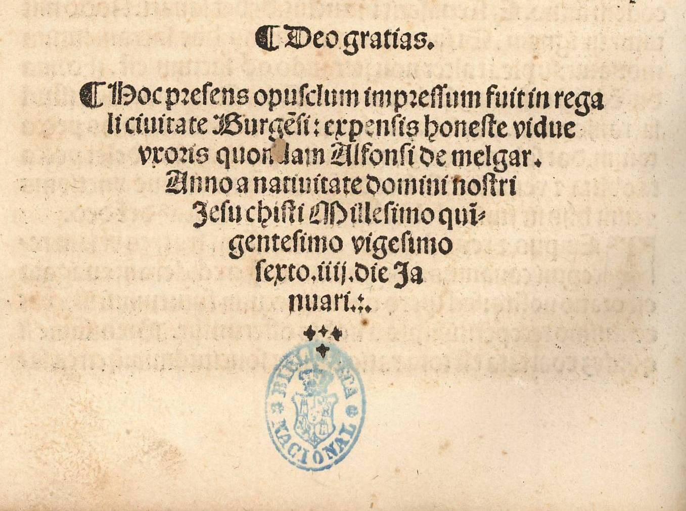 Isabel de Basilea, impresora