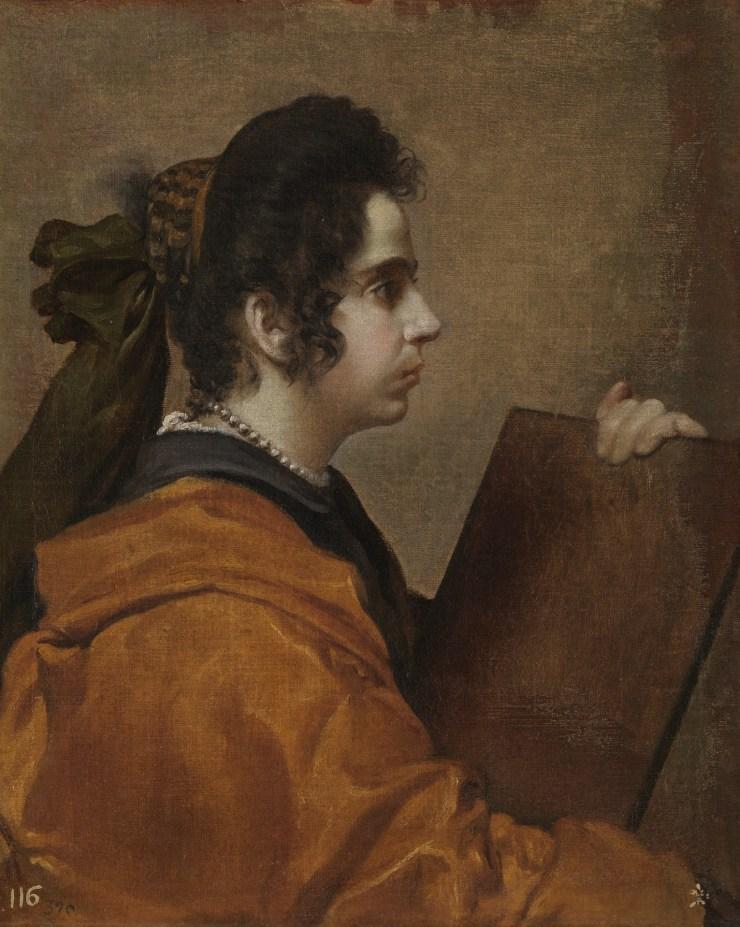 Sibila Hacia 1632. Óleo sobre lienzo, 62 x 50 cm. Museo del Prado
