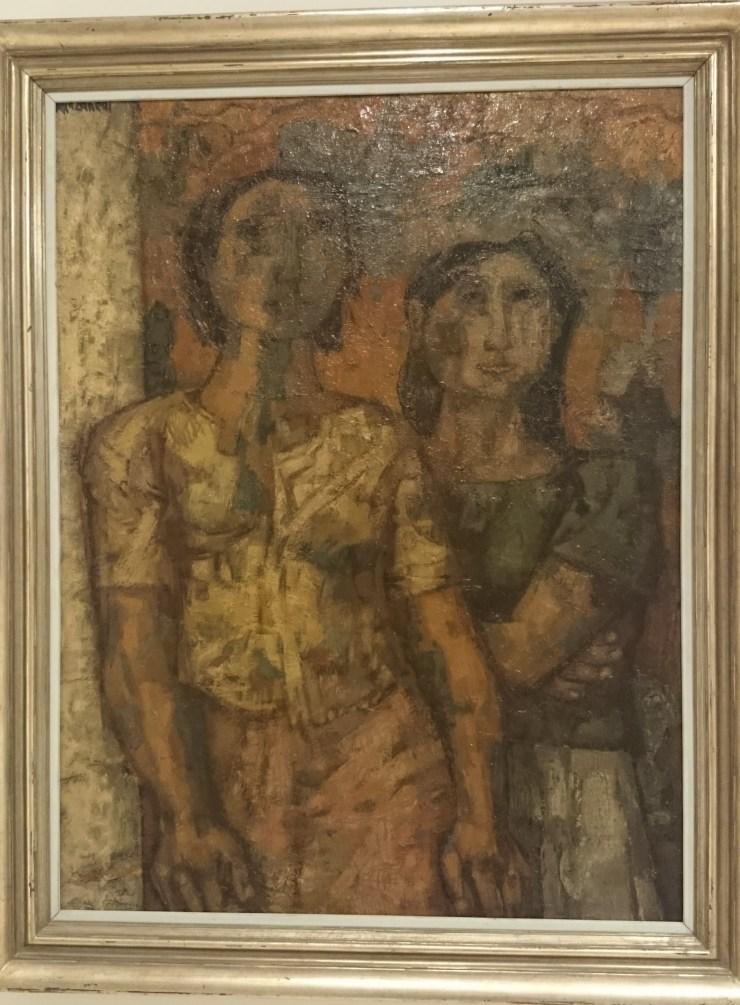 La espera. José Vela Zanetti. Museo de Burgos