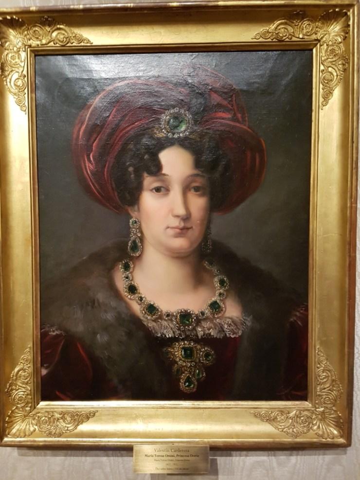 María Teresa Orsini, princesa Doria Museo RABBAASF