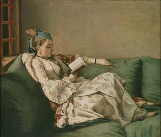 María Adelaida de Francia vestida a la turca