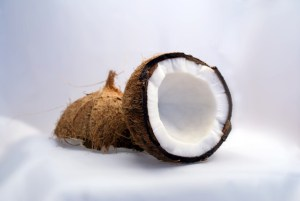 Huile de coco pour les cheveux