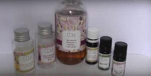 gel douche hydratant vanille et bois de rose
