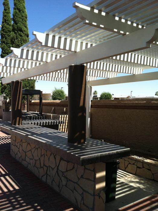 Alumawood Aluminum Patio Covers Phoenix  Mesa Awning