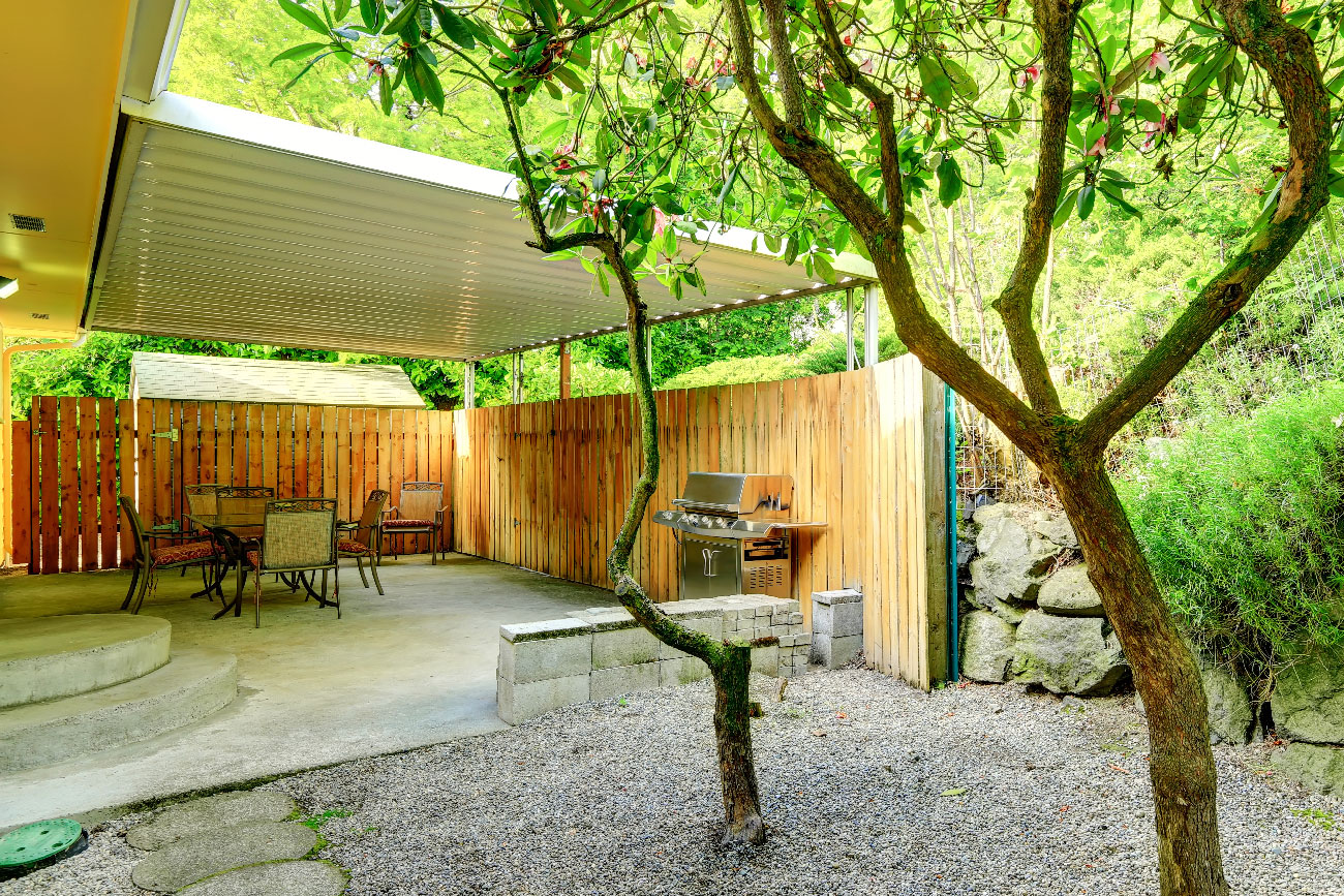 Keep Your Cool And Your Money Inexpensive Patio Shade