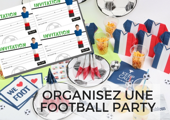 comment organiser une football party