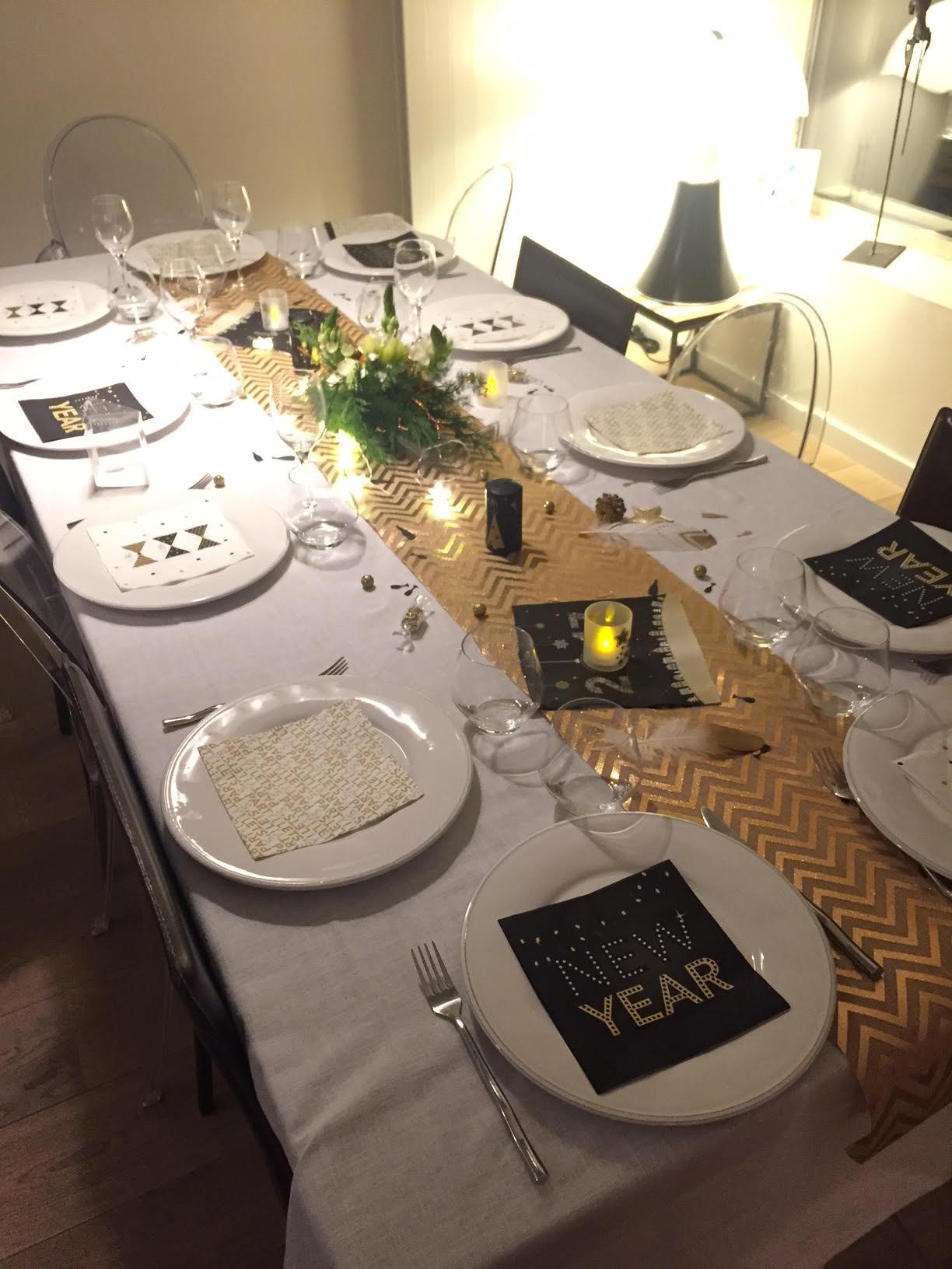 Ides De Table De Rveillon Nol Et St Sylvestre Nouvel An