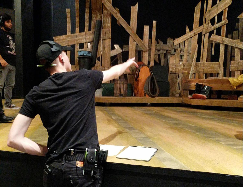 Backstage  Theatre  Film Arts  Mesa Community College