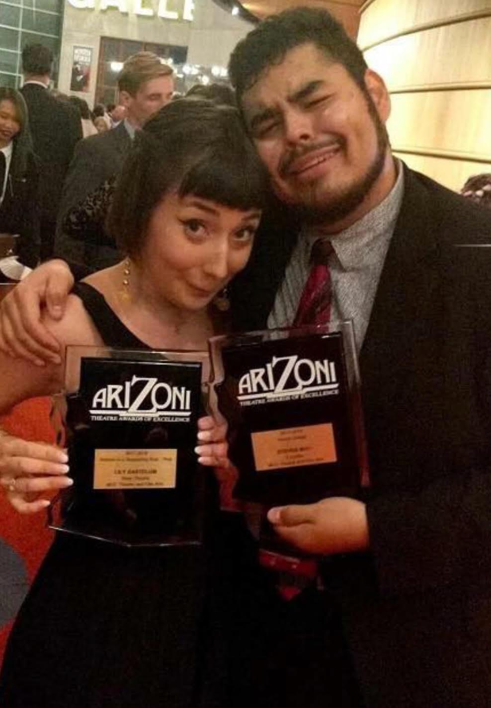 MCC students earn ariZoni awards and honors  Press