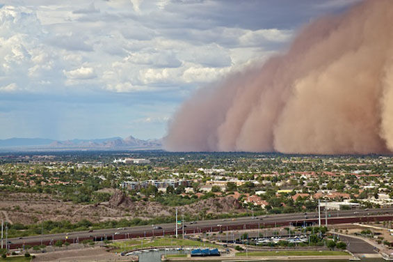 Haboob Monsoon Noreaster  Meteorology  Mesa