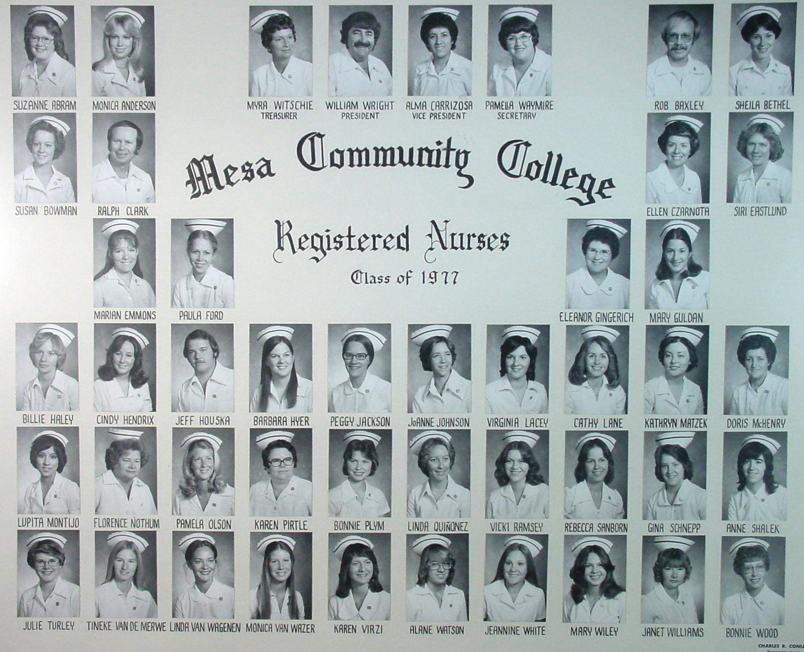 1970s  Nursing  Mesa Community College
